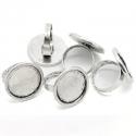 Antiikhõbedane sõrmusetoorik/alaga19,5mm