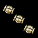 Antiikkuldne vahehelmes/5,5 x 5mm