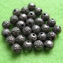 Antiikpronks värvi vahehelmes/roos/6,2mm