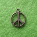 Antiikpronksi värvi ripats/Peace