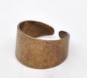 Antiikvaskne laia servaga sõrmuse toorik