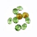 Kleebitav kristall/roheline/2,2mm/10tk