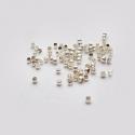 Hõbetatud pärlipidur/ca 2mm/10tk