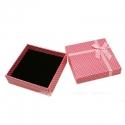 Kinkekarp roosa/täpiline/9x7x2,6cm