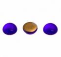 Klaaskamee/10mm/ümar/koobalt-sinine