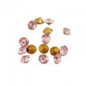 Kleebitav kristall/õrnroosa/2,2mm/10tk