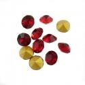 Kleebitav kristall/rubiin2,8mm/10tk