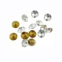 Kleebitav kristall/valget värvi/4,0mm/10tk