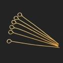 Kuldsed ehtenõelad aasaga 40 mm