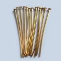 Kuldsed ehtenõelad peaga 35 mm