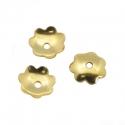 Kuldsed pärlikübarad/6mm/10tk