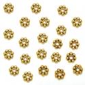 Kuldsed vahehelmed lillekesed/5 mm