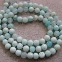 Looduslik Peruu sinine opaal-5-6mm-33 cm