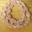 Looduslik roosakvarts tilga kujuline/38 cm