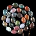 Looduslik värviline ahhaat/-40 cm kive