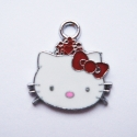"Metallist ripats ""Hello Kitty""/21x20mm"