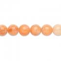 Naturaalne oranz kaltsiit/ 8 mm