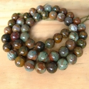 Naturaalne roheline opaal/8mm/40cm