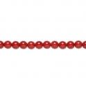 Punane pambuskorall 9-10mm/40 cm