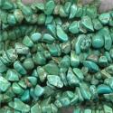 Türkiis magnesiit tsipsid/90 cm kive