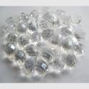 Tahutud klaaspärli tilk/läbipaistev14mm