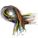 Värvilised organzapaelad/segumix/43,2cm