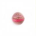 Vintage stiilis helmes/roosa/12mm