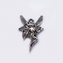 "Antique silver colored pendant ""Fairy"""