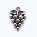 "Antique silver colored pendant ""Grapes"""