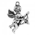 Antiikhõbedane ripats Cupido/28x22 mm