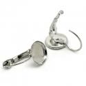 Antiikhõbedased kõrvarõngad/alaga 10 mm