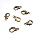 Antique bronze colored carabine clasp