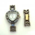 Antiikpronks kellatoorik Austria kristallidega/2