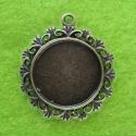 Antique bronze colored frame for cameo