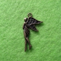 "Antique bronze colored pendant ""Angel"""