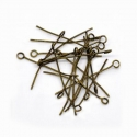 Antique bronze colored eyepins