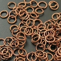 Antique copper colored jumprings