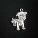 "Silver colored pendant ""Dog"""