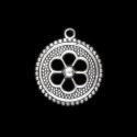 Hõbedane ripats/Etno lill/26,5x23,5mm