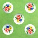 Kaunis kamee lilledega/18mm