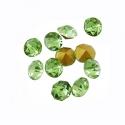 Kleebitav kristall/roheline/3,0mm/10tk