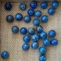 Looduslik lasuriit / lapis lazuli, 8mm / 1 tk