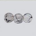 Pintseldatud klaashelmes/läbipaistev/8mm