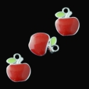 "Pendant ""Red apple"""