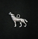 "Silver colored pendant ""Wolf"""