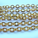 Strong gold colored chain