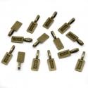 Antiikpronks  kleebitav ripats klaasile/21x7mm